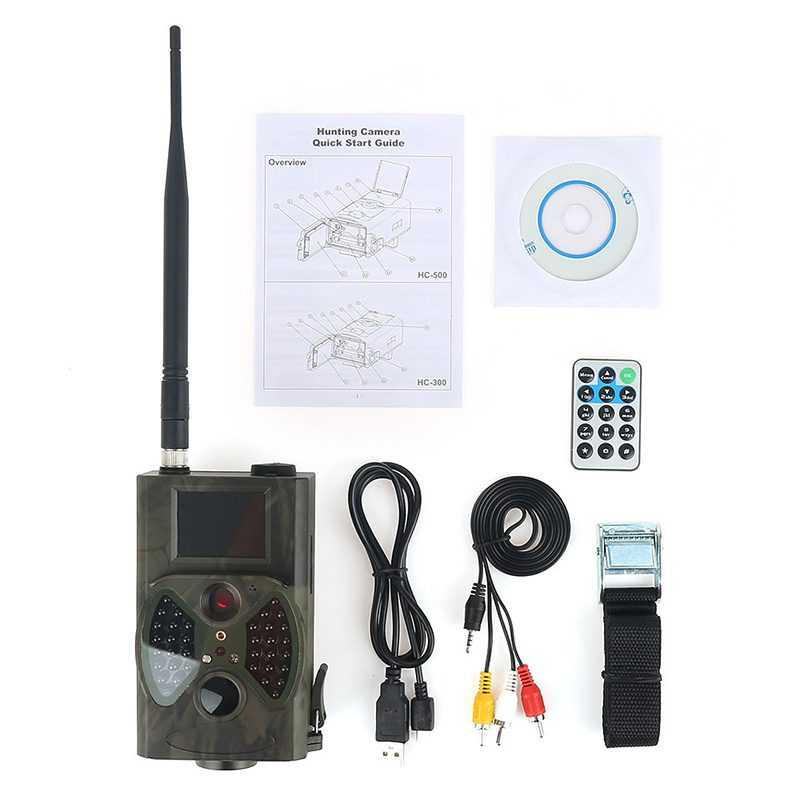 12MP 1080P HC-300M 940NM MMS GPRS Scouting Infrared Trail Hunting Camera Video