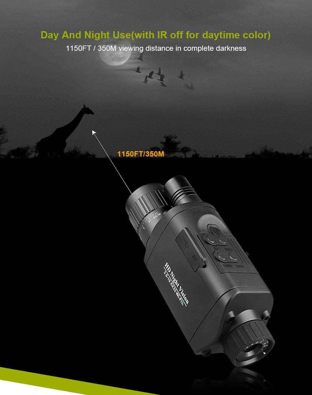 Bestguarder NV-500 Night Vision Monocular pic-4