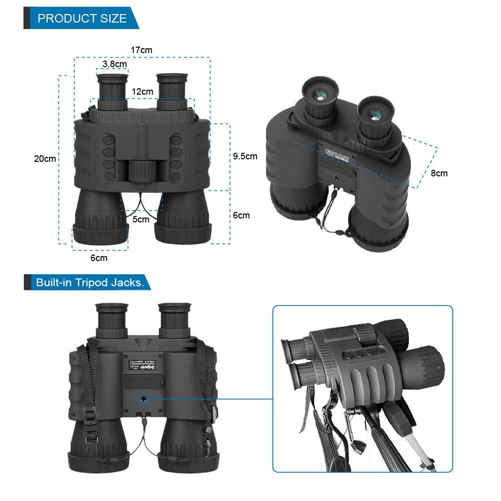 Bestguarder WG-80 Night Vision binoculars pic-2