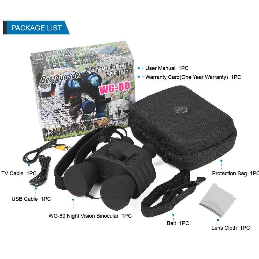 Bestguarder WG-80 Night Vision binoculars pic-5