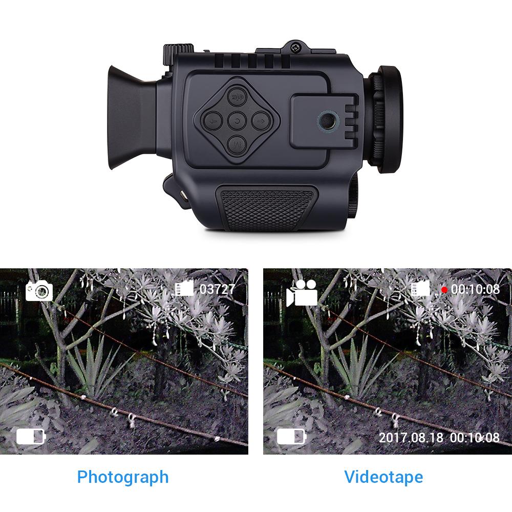 Portable Night Vision monocular P4 pic-2
