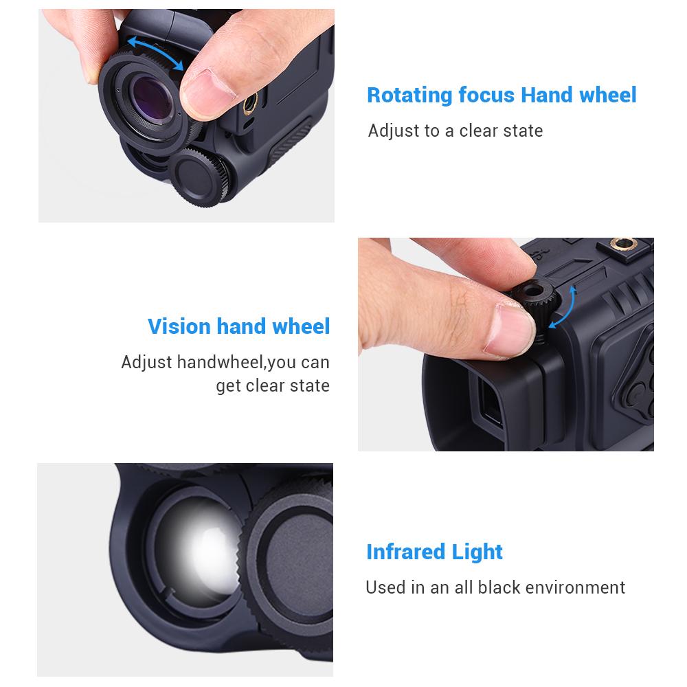 Portable Night Vision monocular P4 pic-3