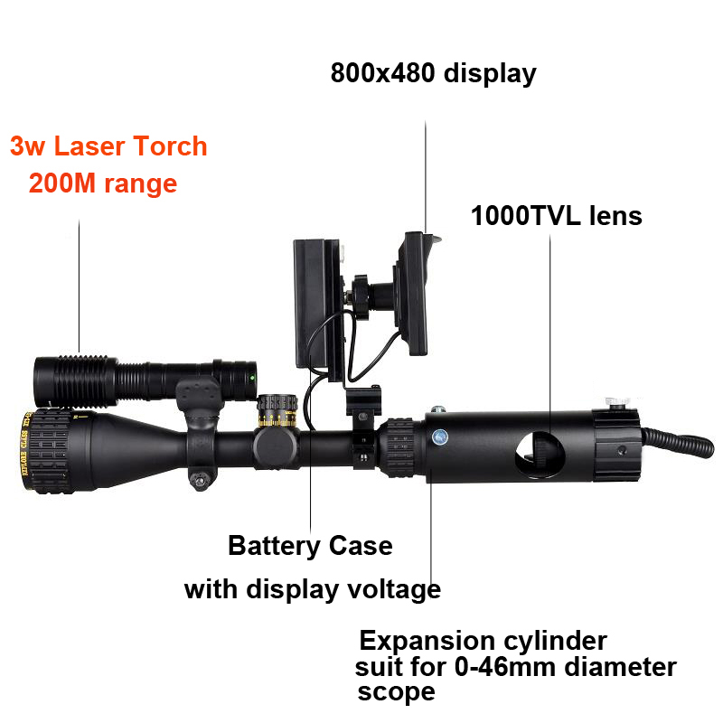 Infrared Night Vision Scope 4