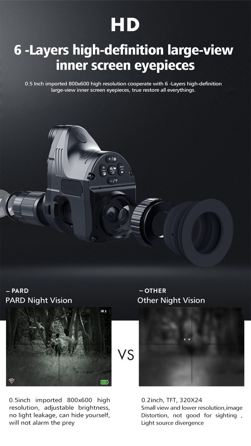 Pard NV007 Digital Night Vision Monocular 2