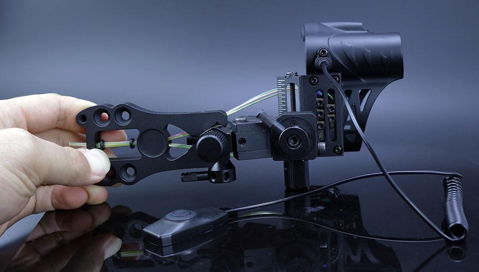aserworks bow sight rangefinder 2
