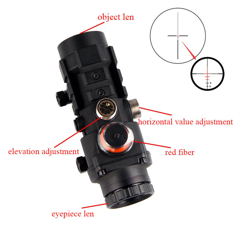 Night vision Scope Attachment SPINA Hunting Scope 2