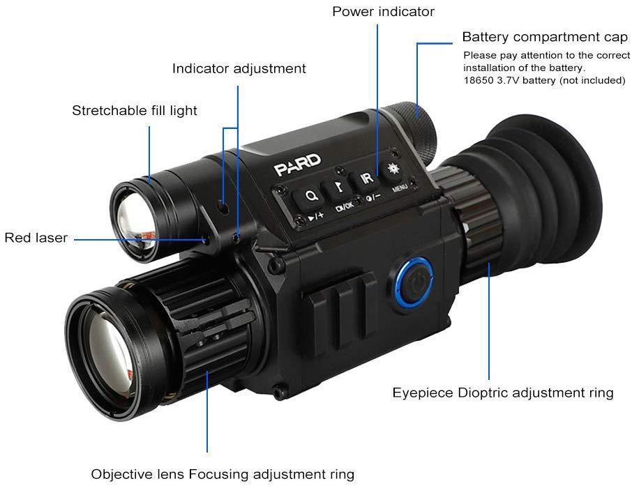Pard NV008 Night Vision Monocular pic-2