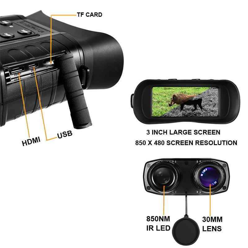 WildGuarder OWLER1 Night Vision Binoculars-4