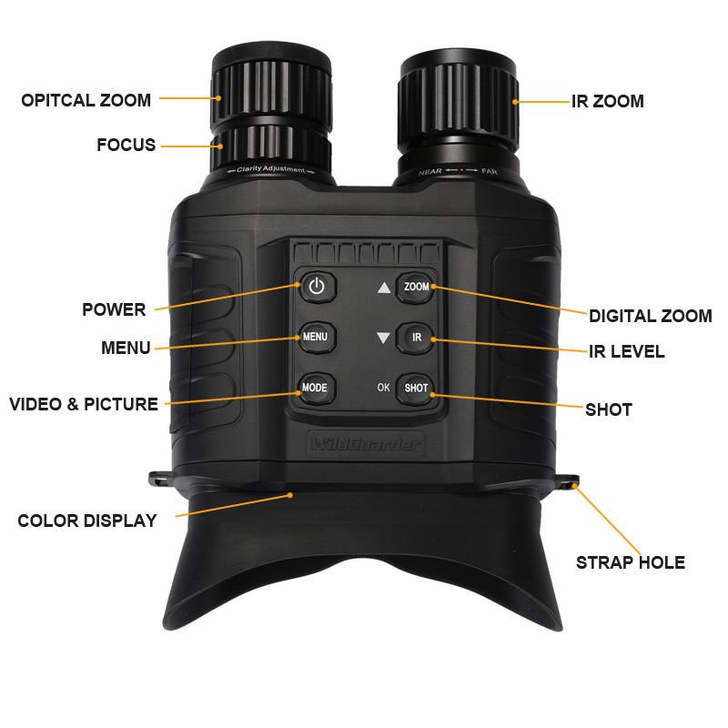 WildGuarder OWLER1 Night Vision Binoculars-5
