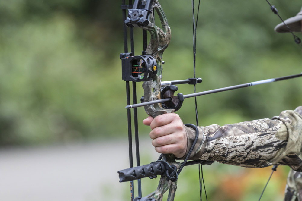 how to use compound bow sights-1