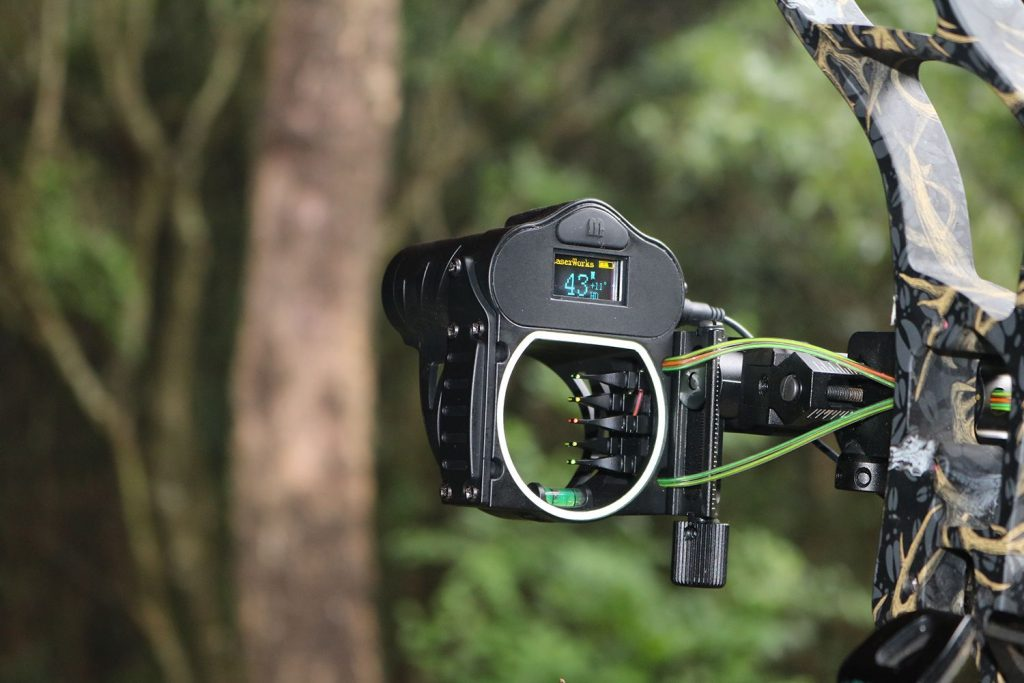 rangefinder for bow sight