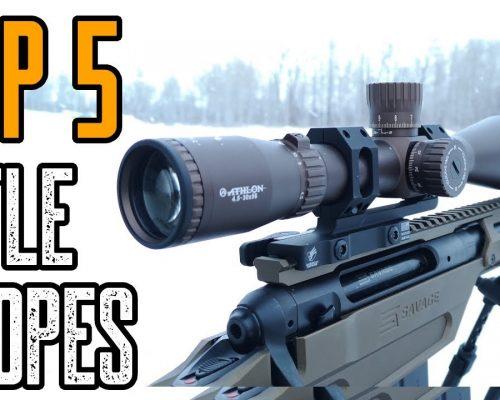night vision scope with rangefinder