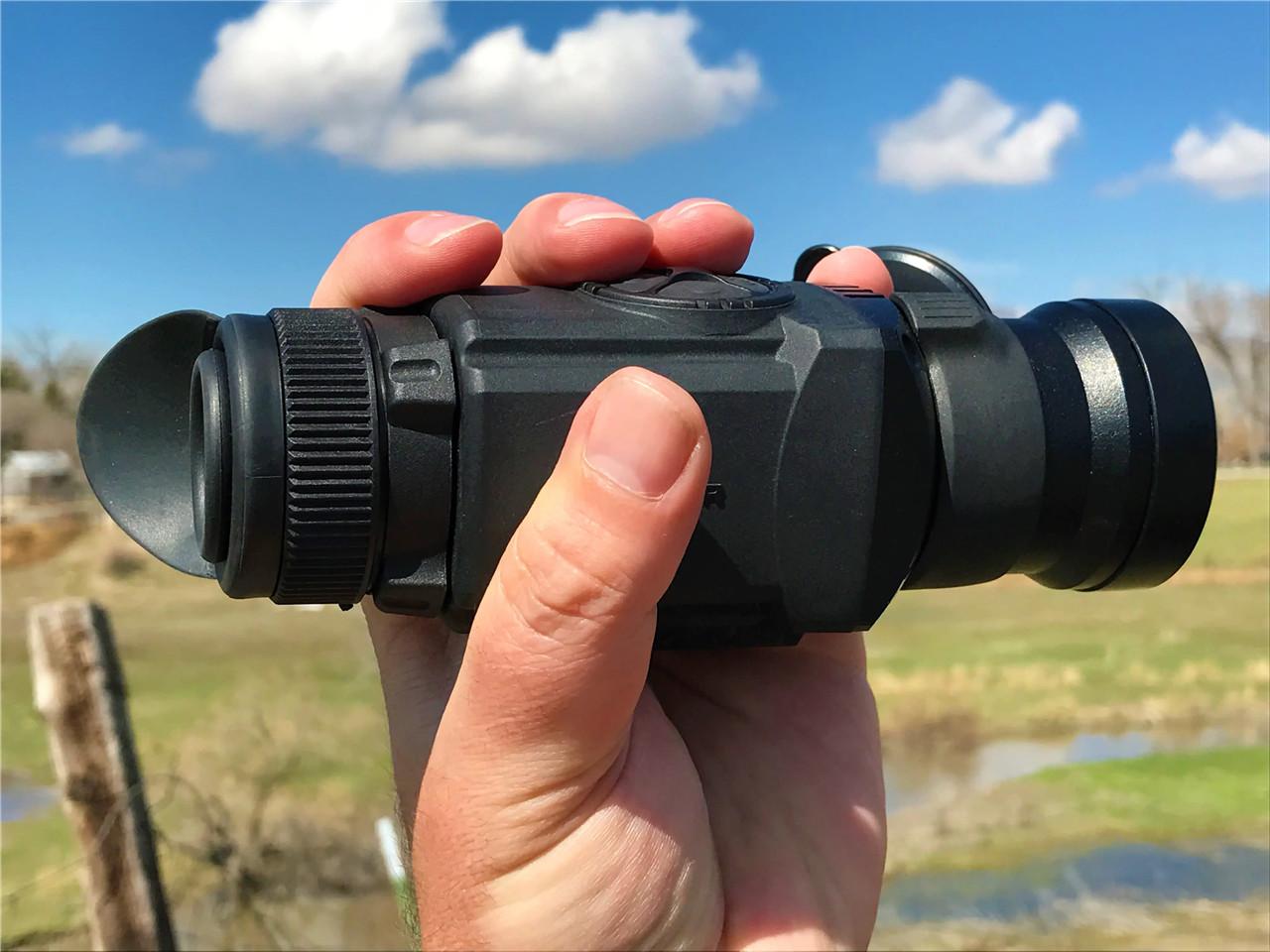 night vision rangefinder monocular